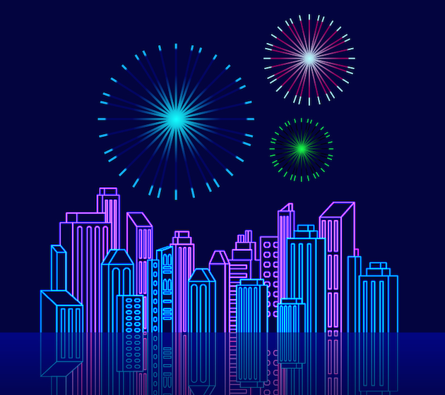 skyline-firework-celebration