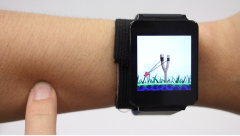 SkinTrack, Use your Arm as a Touch Pad